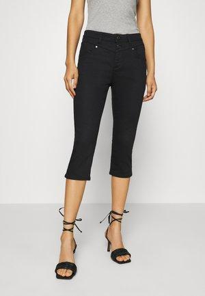 HOSE - Denim shorts - black