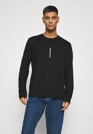 INSTIT SEASONAL GRAPHIC TEE - Pitkähihainen paita - black