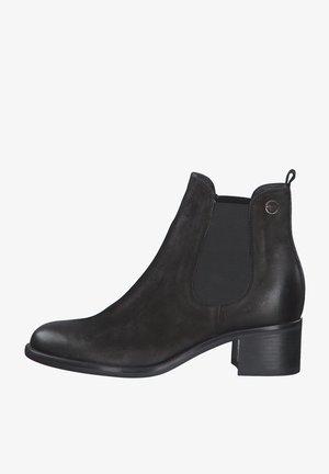 Ankle boots - black nubuc