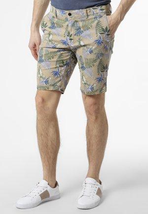 GEORGE - Shorts - beige mehrfarbig
