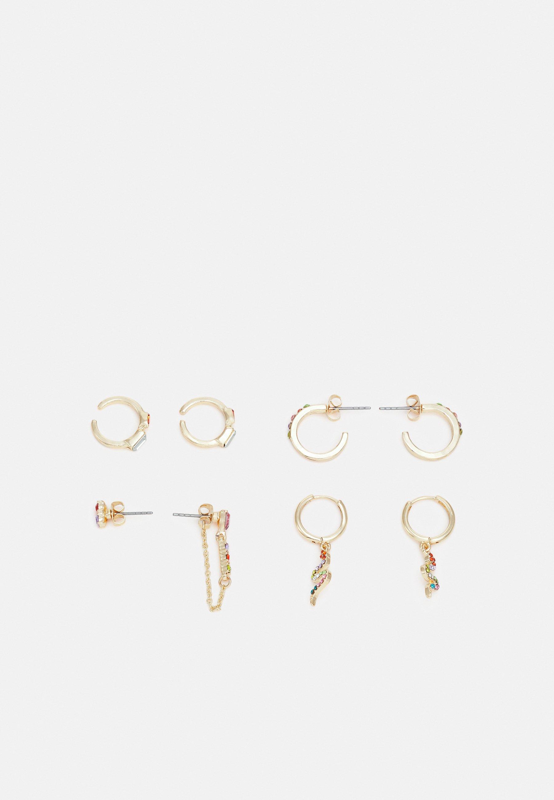 Women PCCOLI EARRINGS 4 PACK - Earrings