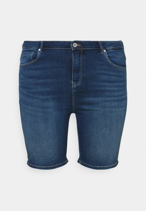CARLAOLA LIFE - Denim shorts - medium blue denim