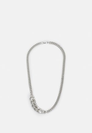 MIXED LINK NECKLACE UNISEX - Halsband - silver-coloured