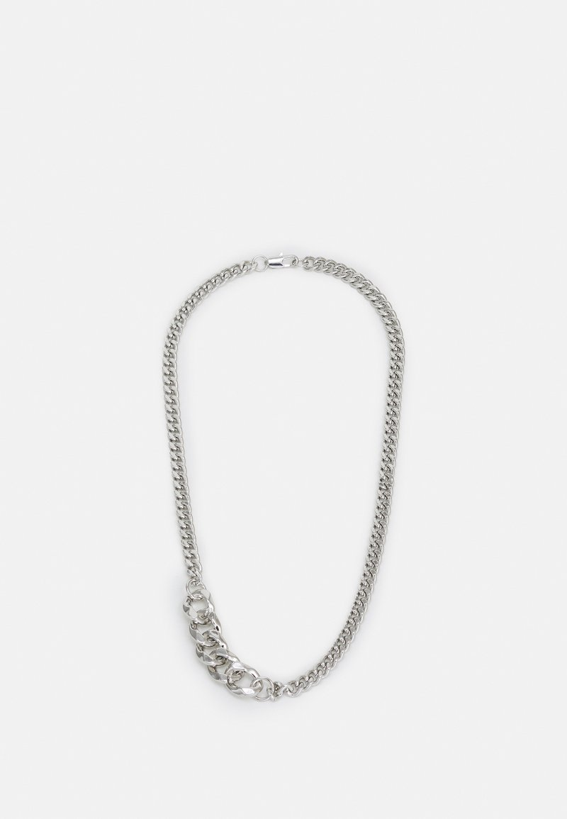 Uncommon Souls - MIXED LINK NECKLACE UNISEX - Necklace - silver-coloured