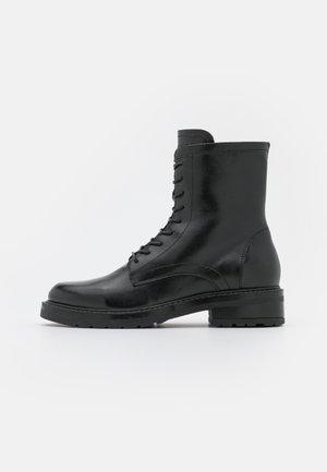 CARMELA - Lace-up ankle boots - black