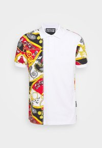 Versace Jeans Couture - PRINT BELT PAISLEY - Polo shirt - rosso - 5