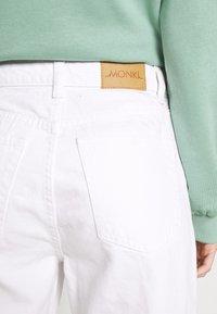 Monki - Široké džíny - white light - 6