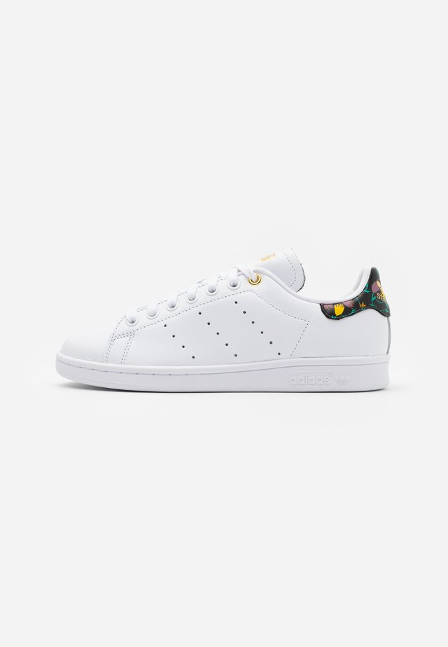 STAN SMITH - Baskets basses - footwear white/clear black/gold metallic