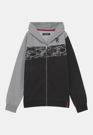 TEEN BOYS - Zip-up hoodie - light grey melange