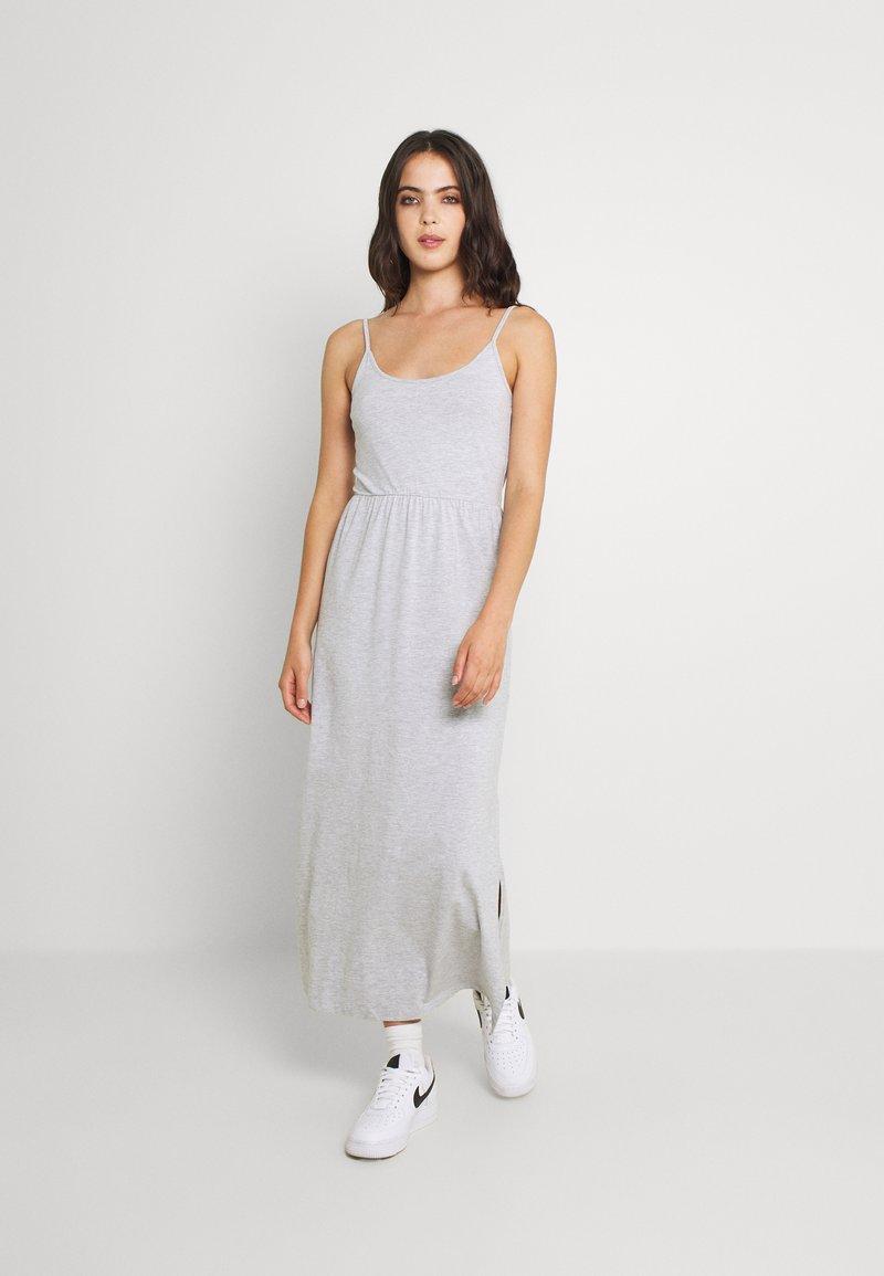 Even&Odd - Maxi dress - mottled light grey