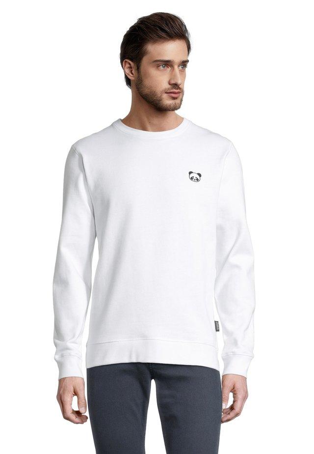 PANDA  - Sweater - weiß
