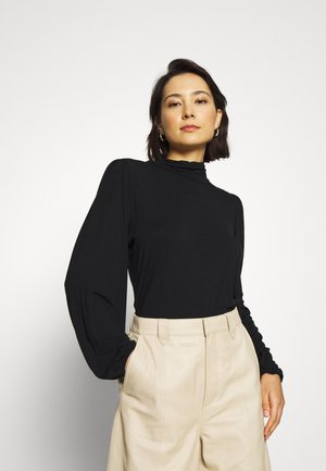 TANNA - Long sleeved top - black