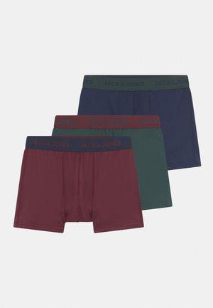 JACCRESS JR 3 PACK - Pants - port royale/darkeste spruce/navy blazer