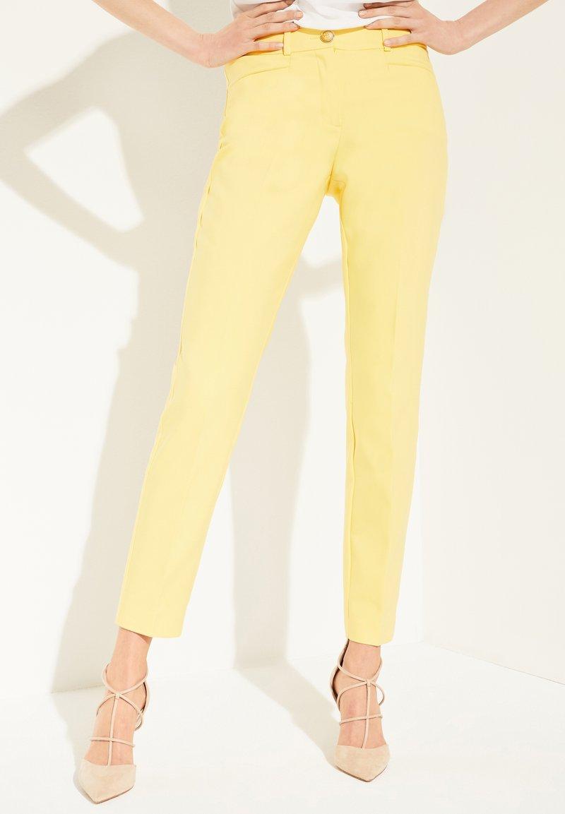 comma - Trousers - lemon