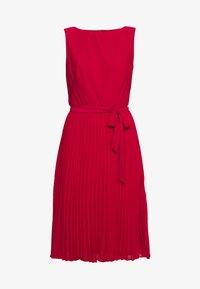 Lauren Ralph Lauren - MID WEIGHT DRESS  COMBO - Day dress - berry sorbet - 7