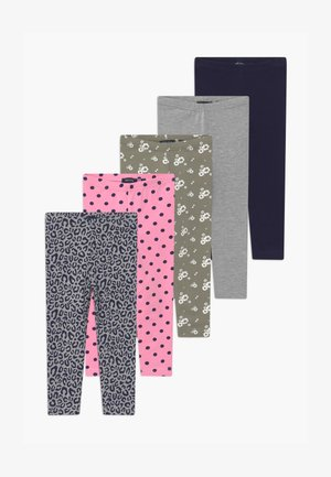 GIRLS STYLE 5 PACK - Leggings - Trousers - multi-coloured