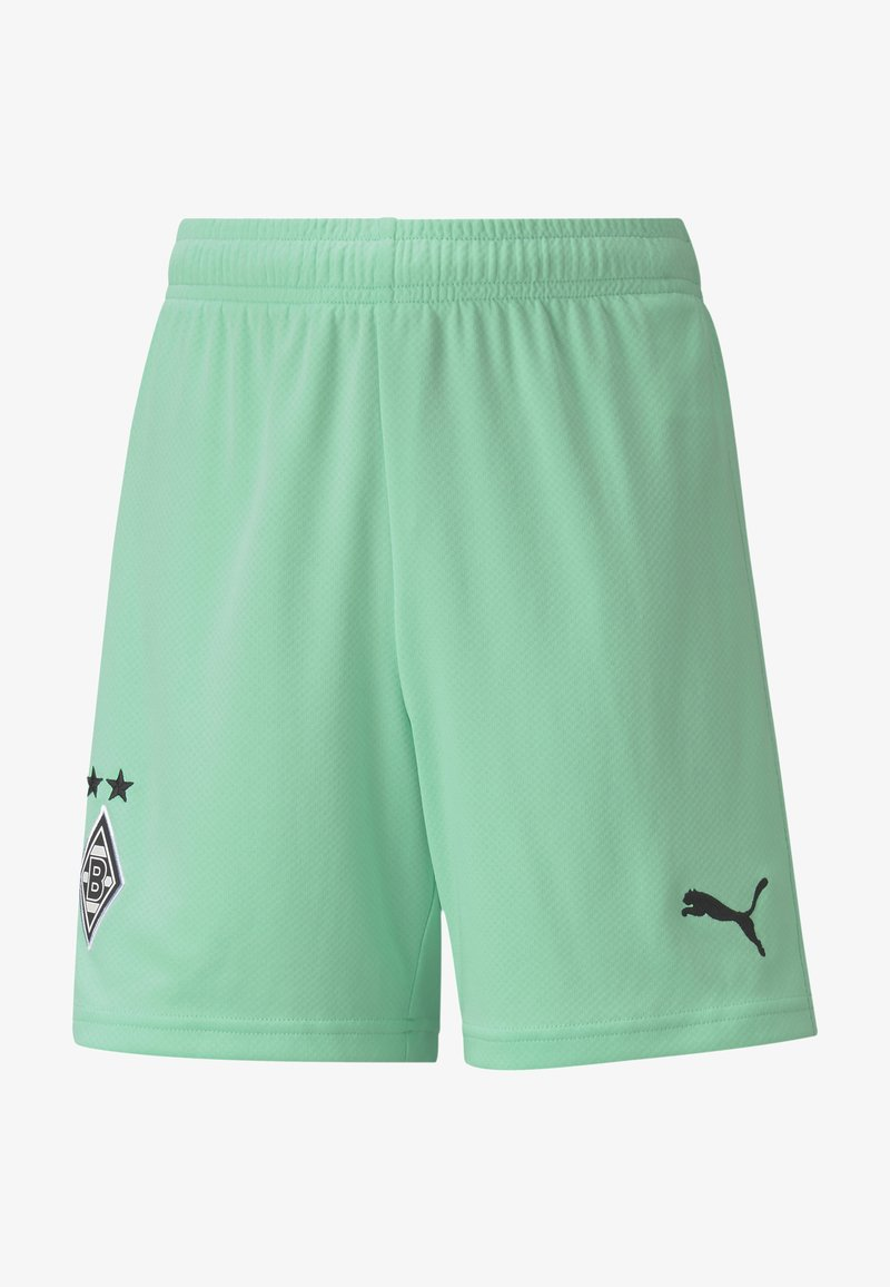 Puma - Sports shorts - green glimmer black