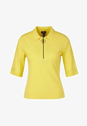 Polo shirt - sulphur