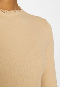 Monki - Long sleeved top - beige - 6