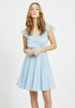 Day dress - cashmere blue