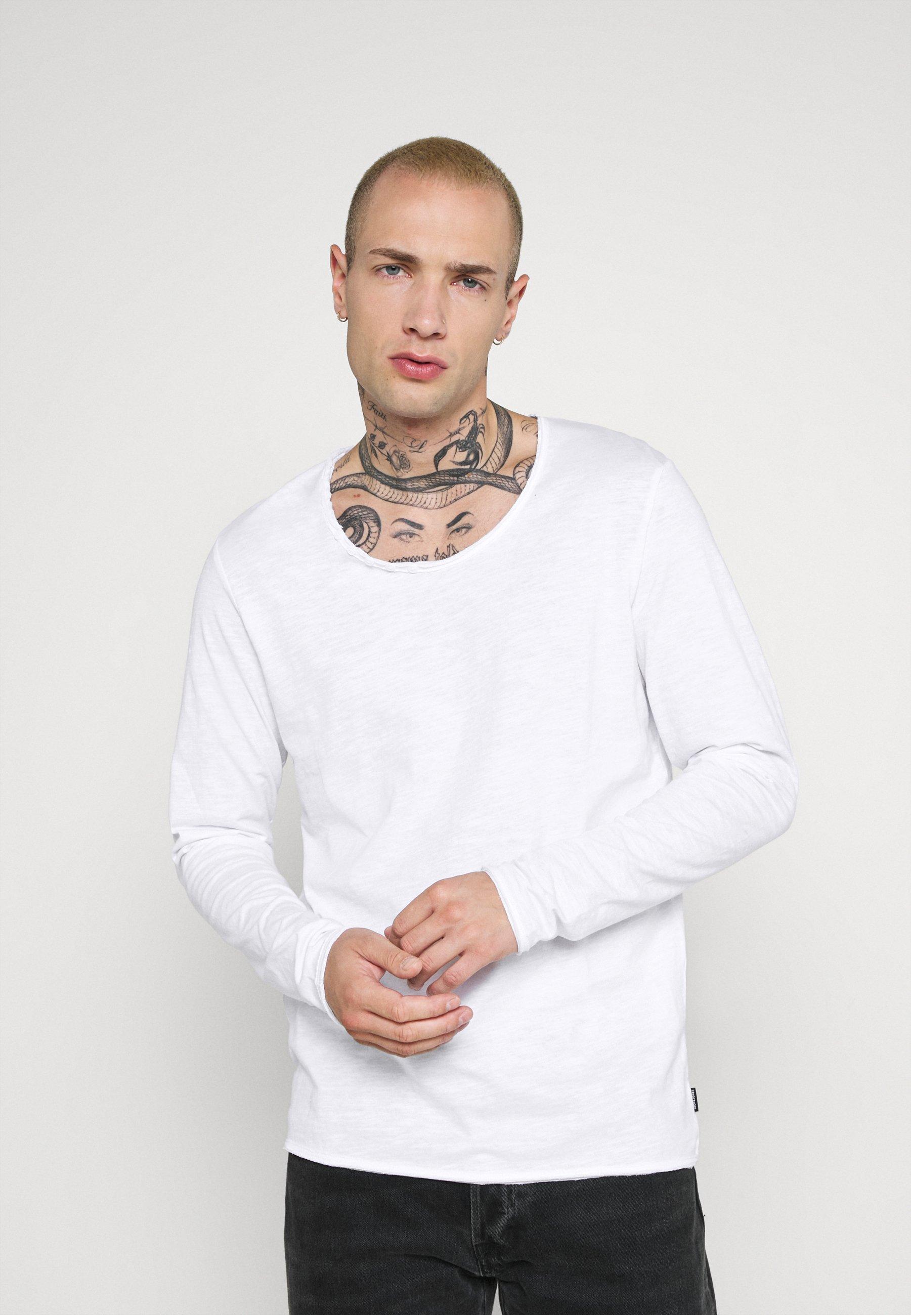 Uomo JJDETAIL  - Maglietta a manica lunga