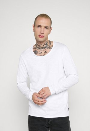 JJDETAIL  - Long sleeved top - white