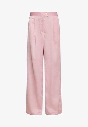 LUXE WIDE LEG TROUSERS - Bukse - lilac
