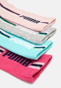 Puma - GIRLS SEASONAL STRIPE SOCK 4 PACK - Ponožky - mixed colors/grey melange - 1