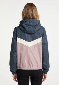 DreiMaster - Light jacket - grau blau vint.rosa - 2