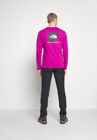 The North Face - MENS BOX TEE - T-shirt à manches longues - wild aster purple - 2