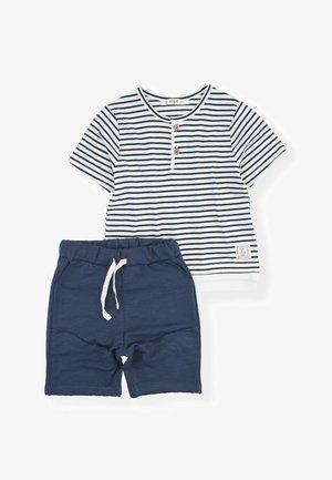 SET - Teplákové kalhoty - dark blue