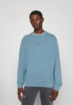 CREW STACK LOGO - Sweatshirt - blue