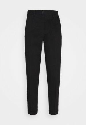 JJIBILL JJBRAD CROPPED - Chino kalhoty - black