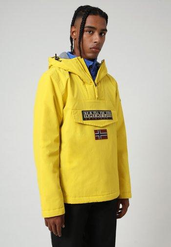 RAINFOREST WINTER - Winter jacket - yellow oil
