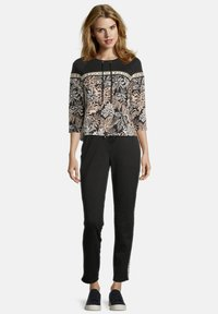 Betty Barclay - Long sleeved top - black/stone - 1