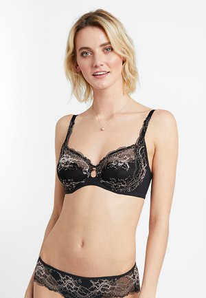 PRIMROSE FLORALE - Underwired bra - black