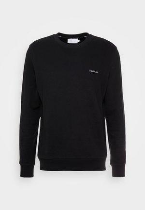 LOGO EMBROIDERY - Sweatshirt - black