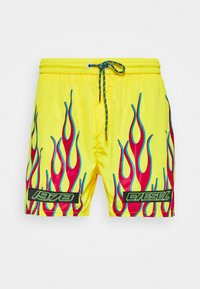 Diesel - BMBX-WAVE 2.017BOXER-SHORTS - Plavky - yellow - 0