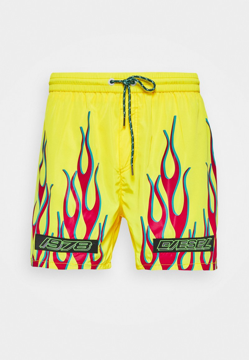 Diesel - BMBX-WAVE 2.017BOXER-SHORTS - Plavky - yellow