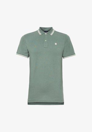 DUNDA SLIM STRIPE - Polo shirt - jungle