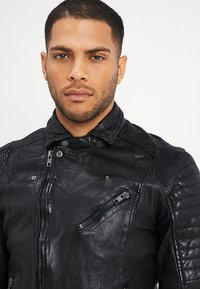 Be Edgy - BESPACE - Leather jacket - black - 3