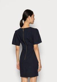 Closet - CLOSET KNOT DETAIL DRESS - Day dress - navy - 2