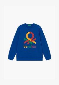 Benetton - BASIC BOY - Sweatshirt - blue - 0