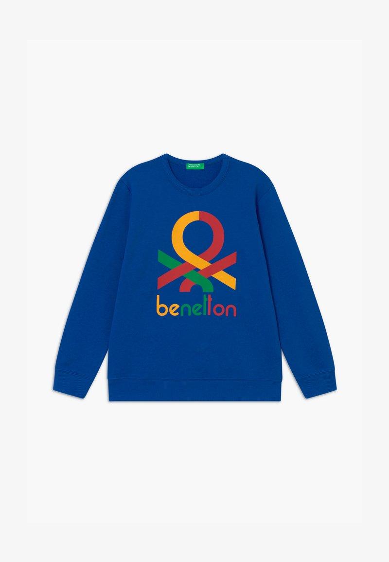 Benetton - BASIC BOY - Sweatshirt - blue