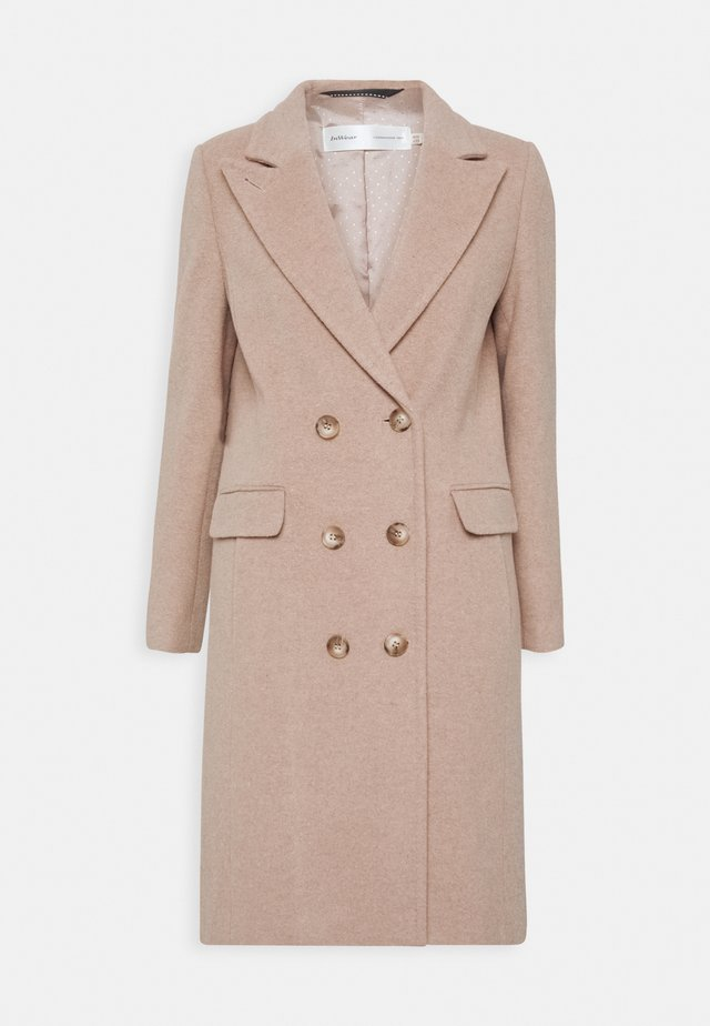 LAUDA - Classic coat - beige melange