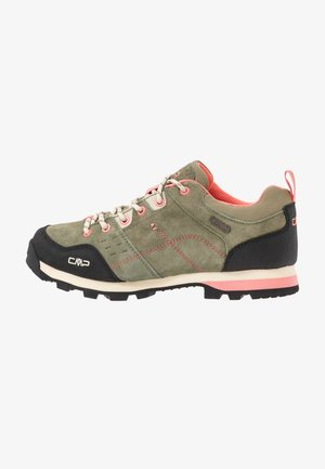 ALCOR LOW TREKKING SHOE WP - Hiking shoes - kaki
