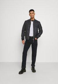 Lee - BROOKLYN  - Straight leg jeans - blue black - 1