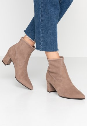 BASSY - Ankle boots - taupe