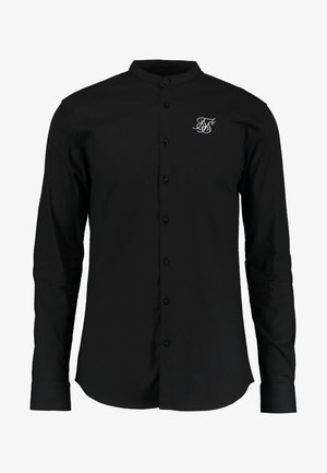 OXFORD STRETCH FIT - Shirt - jet black
