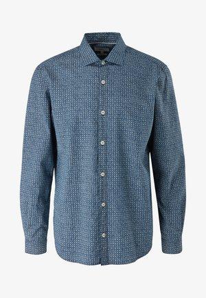 Shirt - blue aop